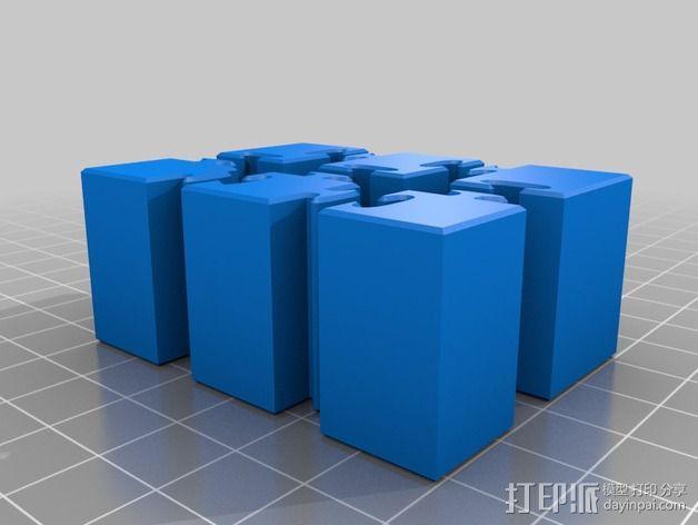 可拼组的工具架 3D模型  图31
