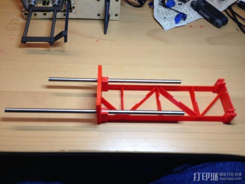 PrintrBot打印机Y轴皮带固定装置 3D模型  图6