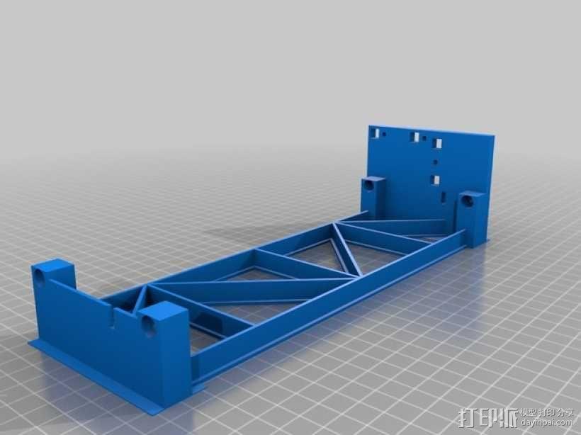 PrintrBot打印机Y轴皮带固定装置 3D模型  图9