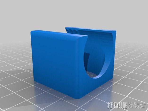 风扇座 风扇安装架 3D模型  图2