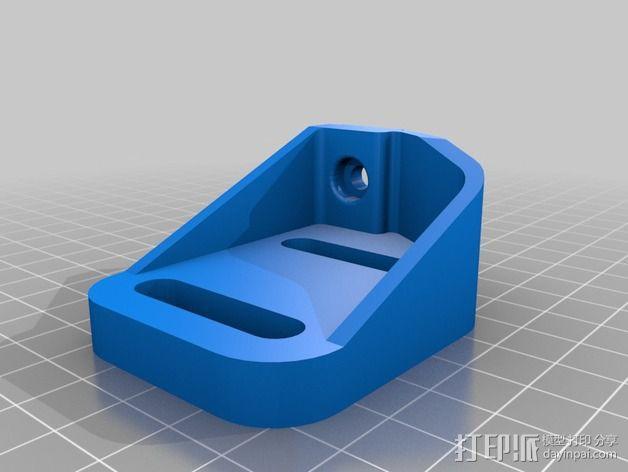 K8200 / 3DRAG Parallel打印机Z轴的主轴齿轮 3D模型  图4