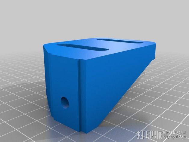 K8200 / 3DRAG Parallel打印机Z轴的主轴齿轮 3D模型  图3