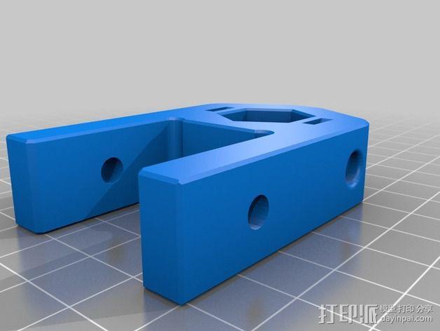 K8200 / 3DRAG Parallel打印机Z轴的主轴齿轮 3D模型  图6