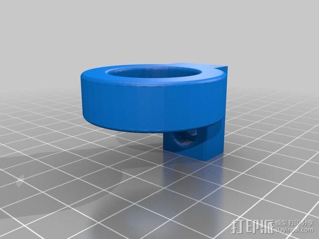 K8200 / 3DRAG Parallel打印机Z轴的主轴齿轮 3D模型  图8