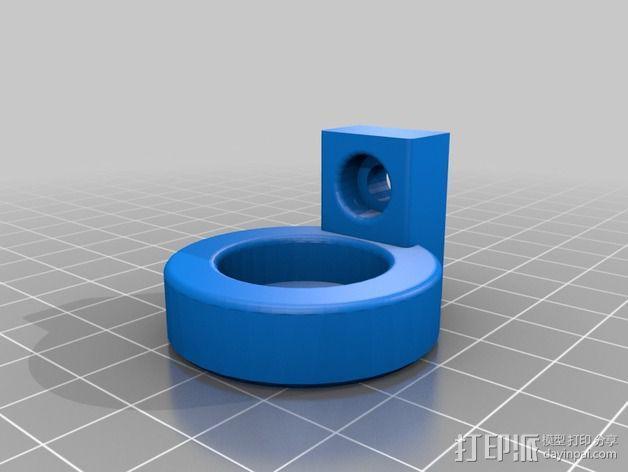 K8200 / 3DRAG Parallel打印机Z轴的主轴齿轮 3D模型  图9