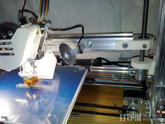 K8200 / 3DRAG Parallel打印机Z轴的主轴齿轮 3D模型  图13