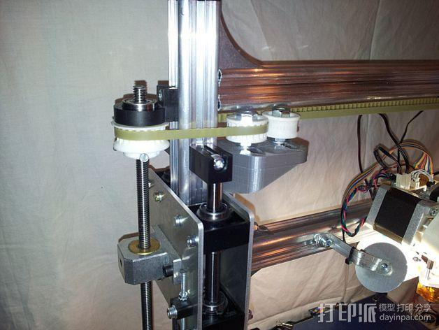 K8200 / 3DRAG Parallel打印机Z轴的主轴齿轮 3D模型  图16