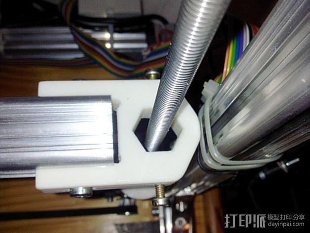 K8200 / 3DRAG Parallel打印机Z轴的主轴齿轮 3D模型  图17