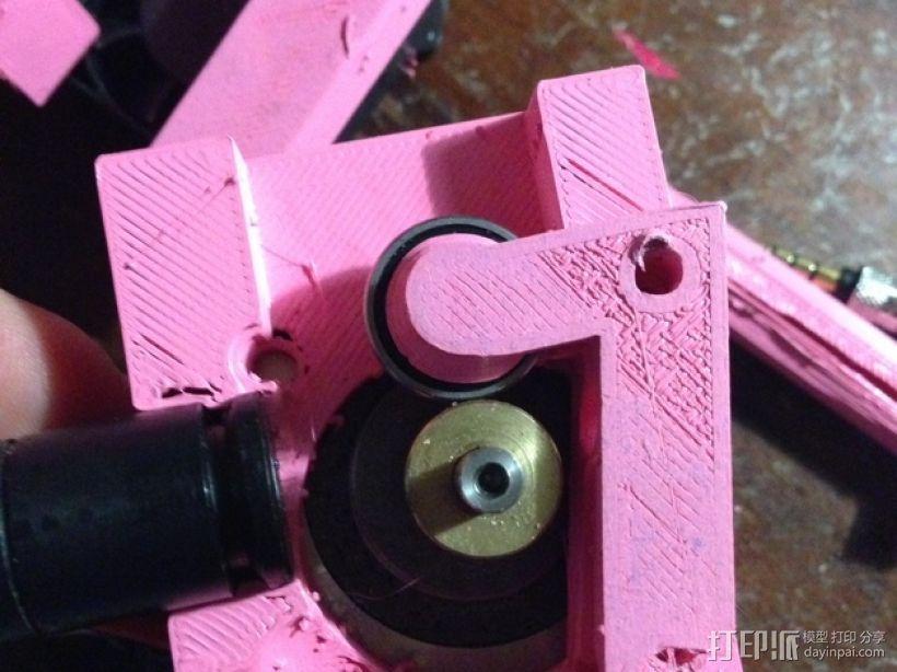 QU-BD One/TwoUp打印机的挤出机 3D模型  图19