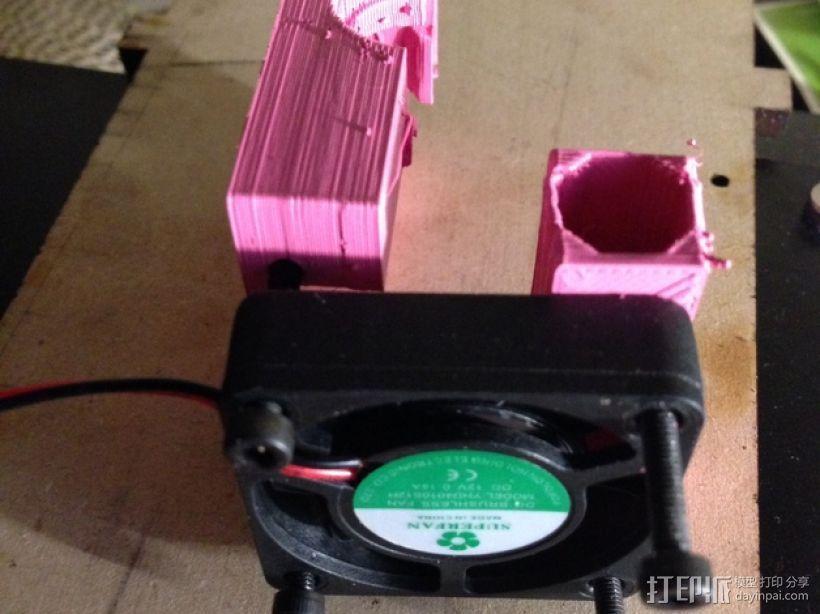 QU-BD One/TwoUp打印机的挤出机 3D模型  图34