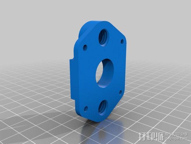 QU-BD One-Up 打印机替换部件 3D模型  图3