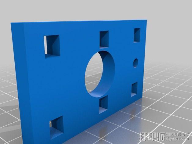 QU-BD One-Up 打印机替换部件 3D模型  图4