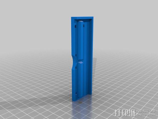QU-BD One-Up 打印机替换部件 3D模型  图5