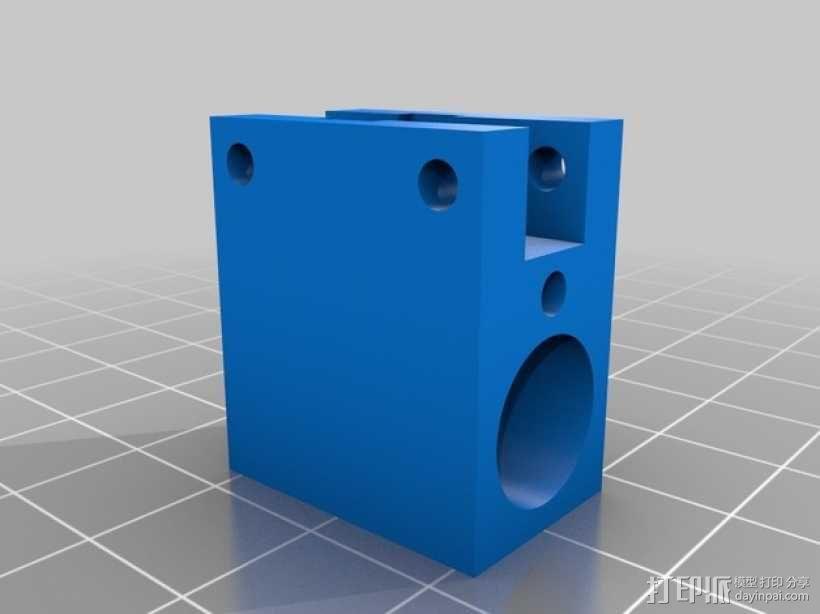 Ultimaker XY打印机上的香蕉形张紧器 3D模型  图9