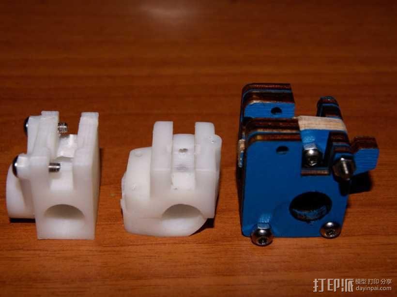 Ultimaker XY打印机上的香蕉形张紧器 3D模型  图6