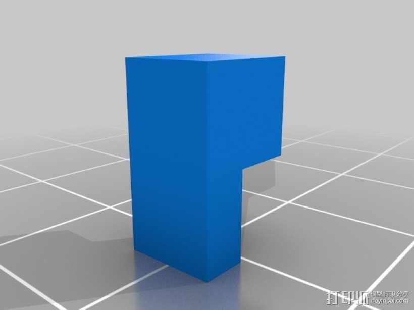 Ultimaker XY打印机上的香蕉形张紧器 3D模型  图10