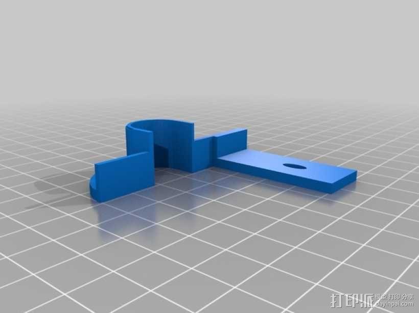 Robo3D打印机导线器 导线管 3D模型  图3