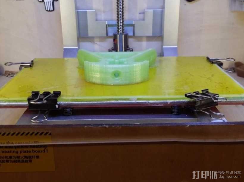 Kossel打印机外框固定器 3D模型  图6