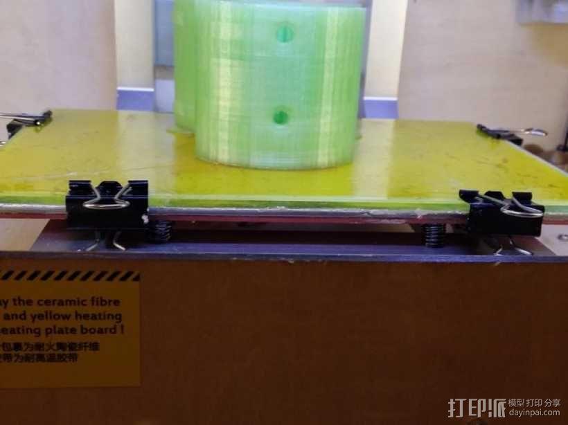 Kossel打印机外框固定器 3D模型  图7
