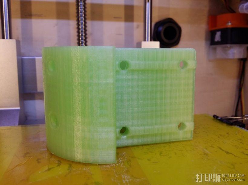 Kossel打印机外框固定器 3D模型  图5