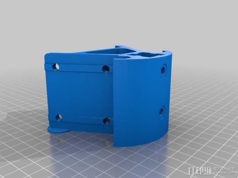 Kossel打印机外框固定器 3D模型  图11