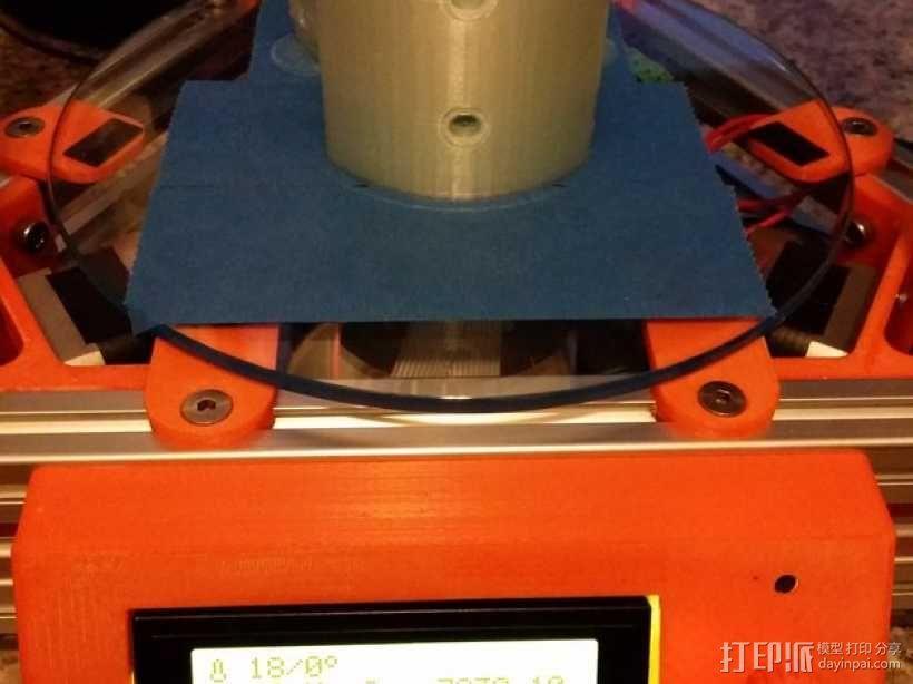 Kossel打印机外框固定器 3D模型  图9