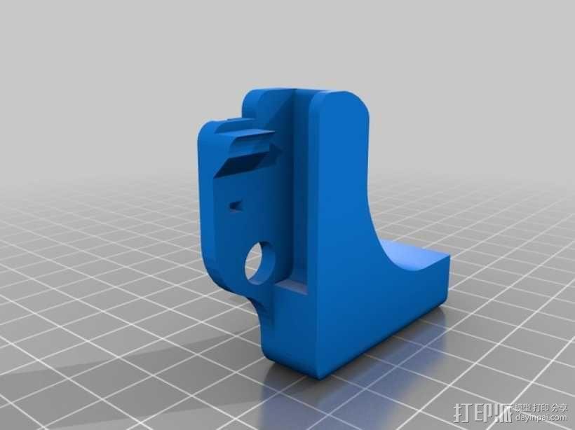 Printrbot打印机正时皮带 3D模型  图2