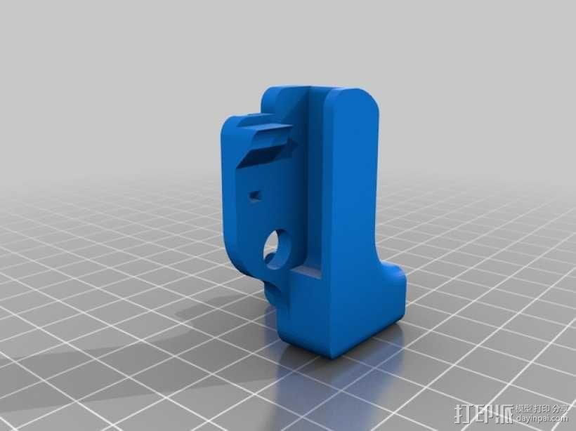 Printrbot打印机正时皮带 3D模型  图4