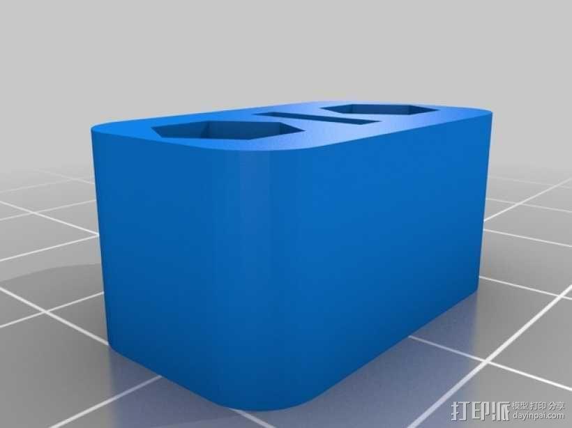 Printrbot打印机正时皮带 3D模型  图8