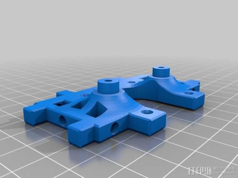 Printrbot打印机正时皮带 3D模型  图7