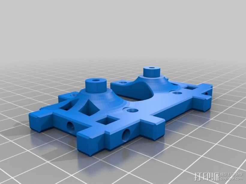 Printrbot打印机正时皮带 3D模型  图6