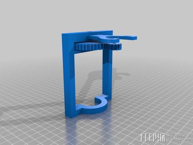 简易形挤出机 3D模型  图3