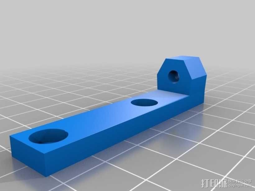 Prusa i3打印机限位开关固定器 3D模型  图7
