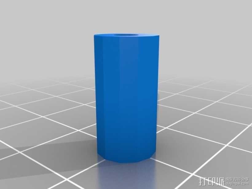 Prusa i3打印机限位开关固定器 3D模型  图8