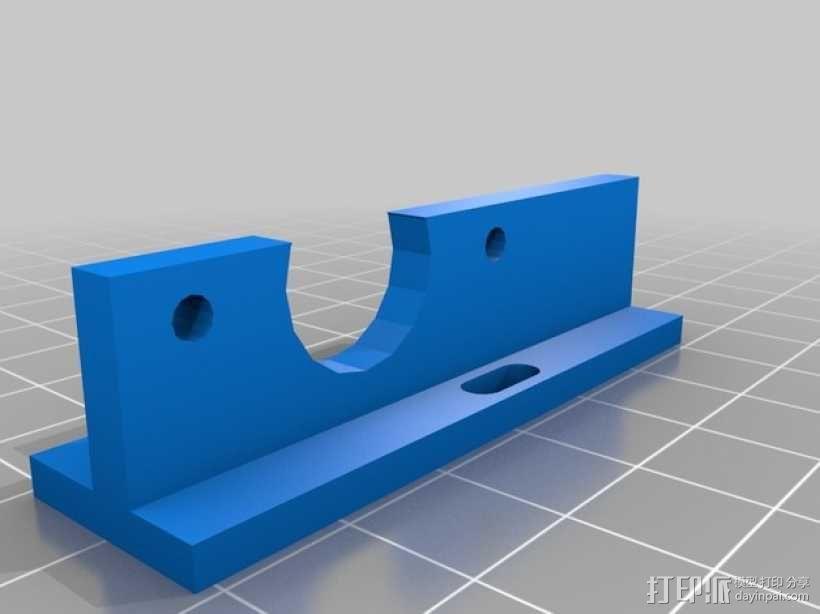 Prusa i3打印机限位开关固定器 3D模型  图9