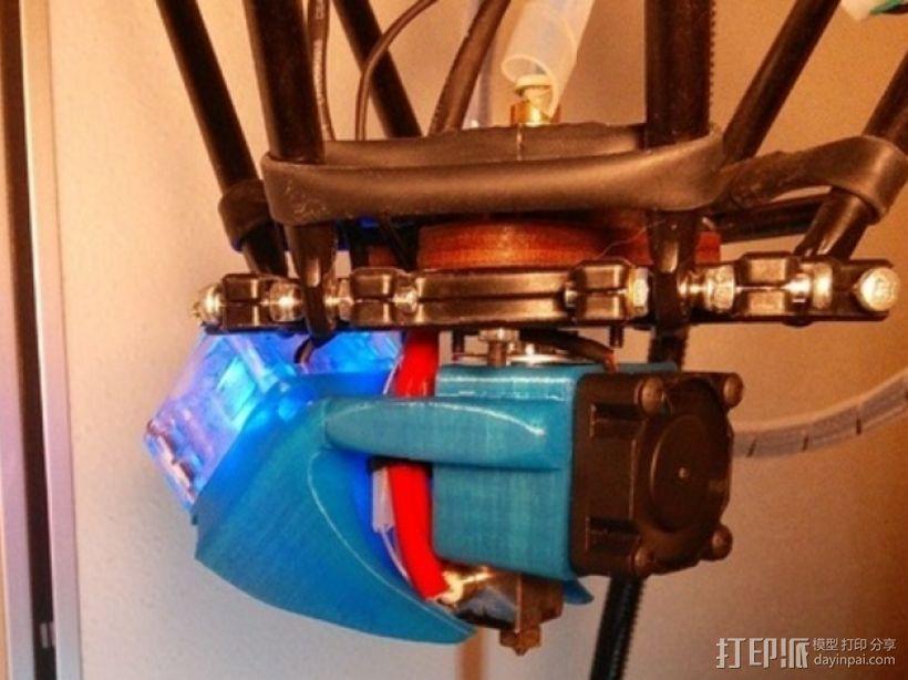风扇通风管 3D模型  图1