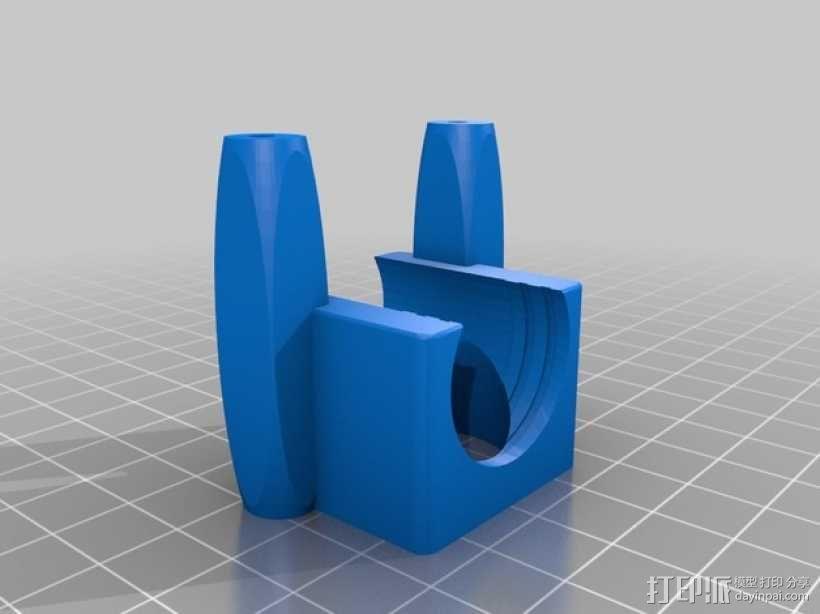 风扇通风管 3D模型  图4