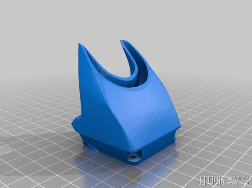 风扇通风管 3D模型  图3