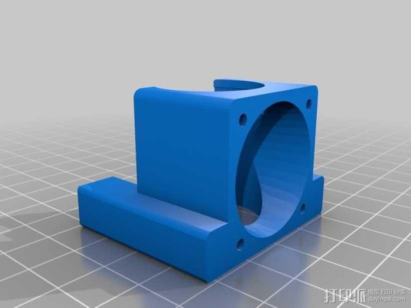 风扇通风管 3D模型  图6