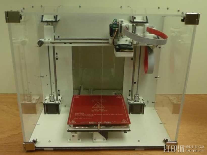 Mendel90打印机 3D模型  图2