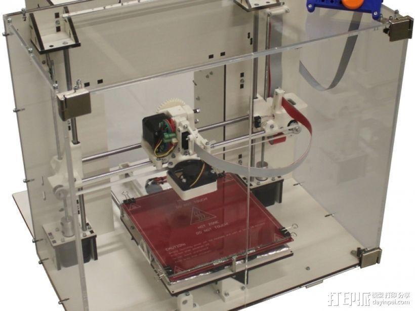 Mendel90打印机 3D模型  图1