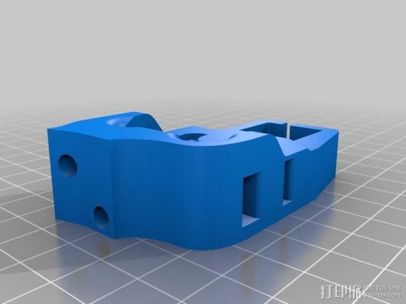 挤出机风扇 风扇导管 3D模型  图8