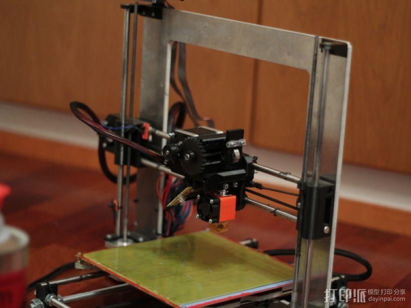 挤出机 喷嘴座 3D模型  图9
