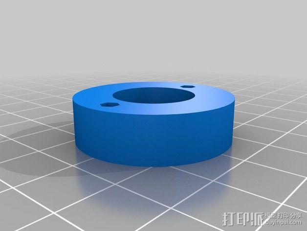 Rostocks打印机U形接头 3D模型  图8