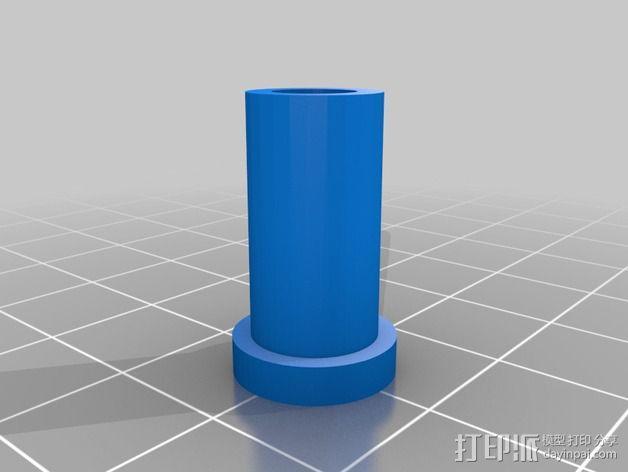Rostocks打印机U形接头 3D模型  图11