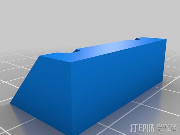 Rostocks打印机U形接头 3D模型  图12