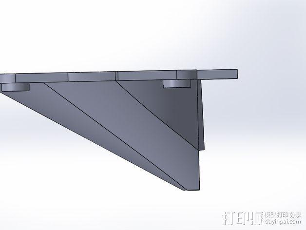 风扇架 3D模型  图4