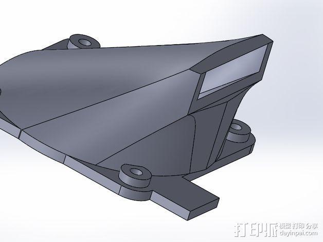 风扇架 3D模型  图3