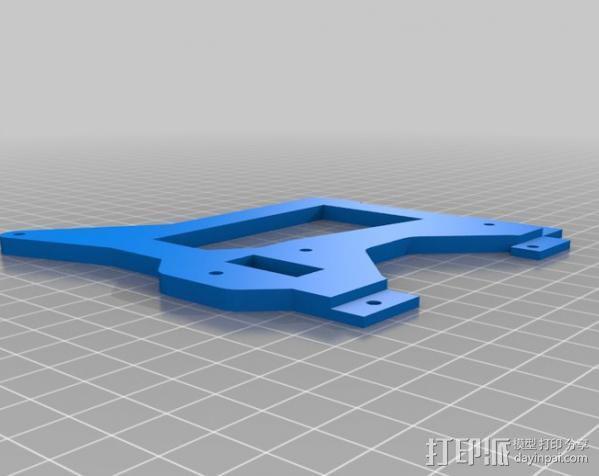 Prusa I3打印机外框 3D模型  图2