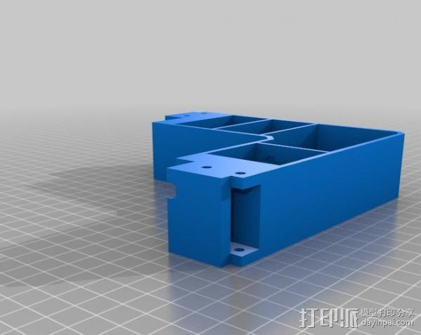 Prusa I3打印机外框 3D模型  图3